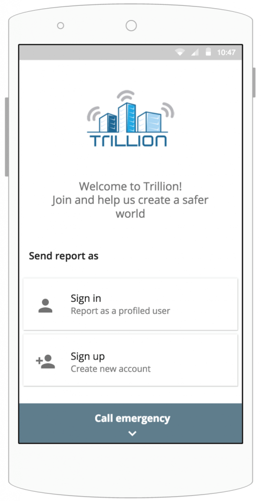 A preview of TRILLION application